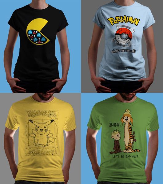 a2a3e4377 Camisetas da Qwertee