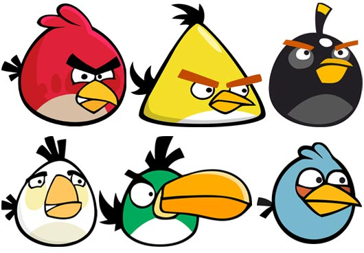 Personagem Angry Birds