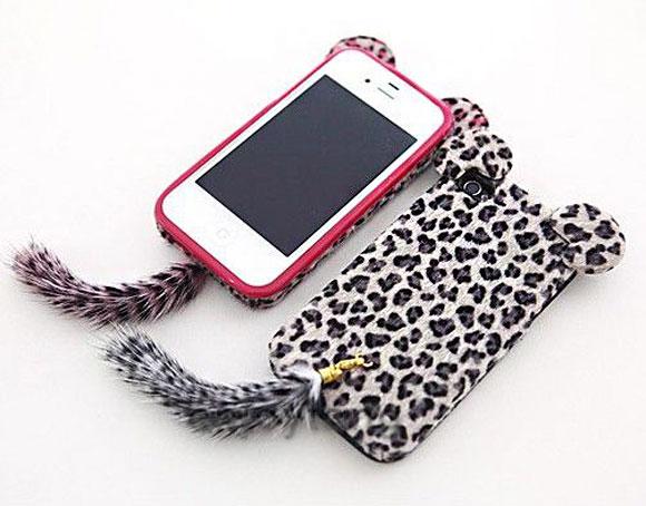 ... essa capinha de leopardo vai ser uma das febres dos cases para iPhone