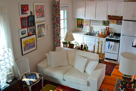 decoracao de interiores pequenos apartamentos:Apartamento-pequeno-3