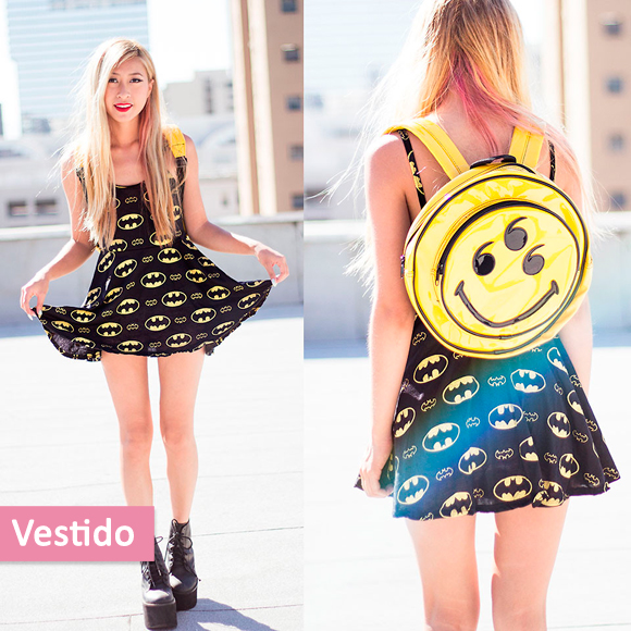 look-inspirado-batman-vestido