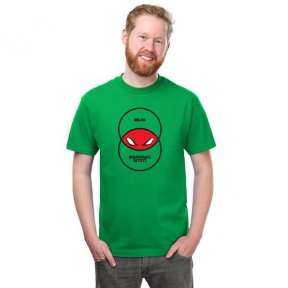 Camiseta tartarugas ninjas
