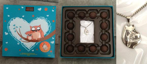 Chocolates-Brasil-Cacau-Dia-das-mães-trufas-com-pingente-coruja
