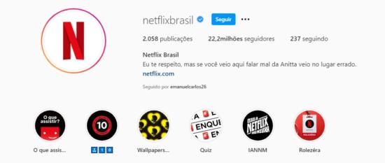 Netflix e anitta